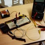 Capacitor experiment